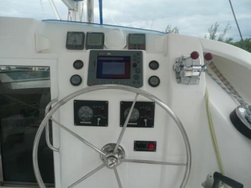 Preowned Sail Catamarans for Sale 2008 Leopard 40 Electronics & Navigation